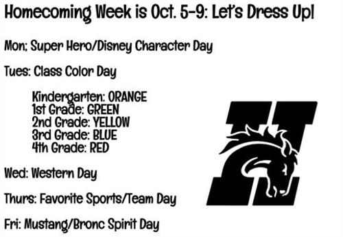 Homecoming Week!