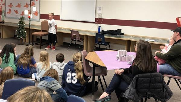Daly Elementary School hosts poetry jam