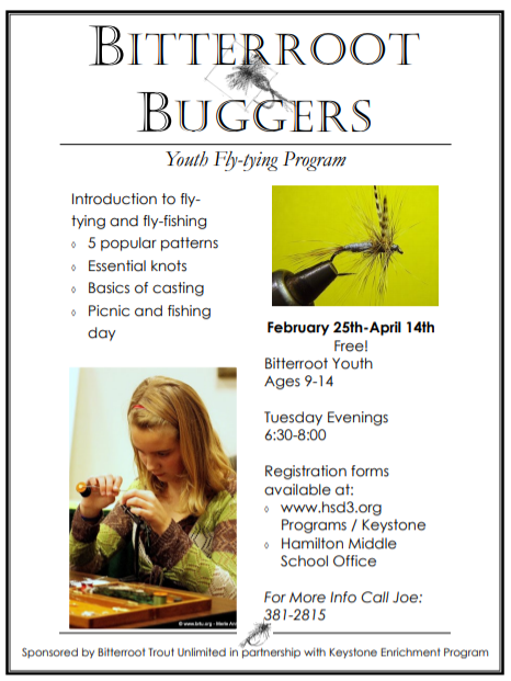 Sign up for Buggers today!